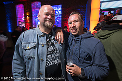 A great evening Intermot sponsored party at the very cool New Yorker / Dock One warehouse after another day at the Intermot Motorcycle Trade Fair. Cologne, Germany. Thursday October 6, 2016. Photography ©2016 Michael Lichter.