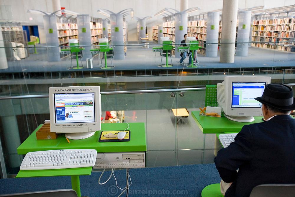 The Burton Barr public library in Phoenix, Arizona.
