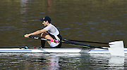 Caversham  Great Britain.<br /> Sam TUCK.<br /> 2016 GBR Rowing Team Olympic Trials GBR Rowing Training Centre, Nr Reading  England.<br /> <br /> Tuesday  22/03/2016 <br /> <br /> [Mandatory Credit; Peter Spurrier/Intersport-images]