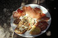 antipasti in Siena, Tuscany - photograph by Owen Franken