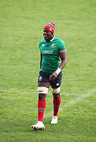 Rugby Union - 2017 British & Irish Lions Tour of New Zealand - Captains Run <br /> <br /> Maro Itoje laughs during the Captains Run at The QBE Stadium, Auckland. <br /> <br /> COLORSPORT/LYNNE CAMERON