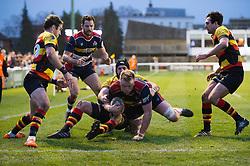 Joe Joyce of Bristol Rugby - Mandatory by-line: Dougie Allward/JMP - 30/12/2017 - RUGBY - The Athletic Ground - Richmond, England - Richmond v Bristol Rugby - Greene King IPA Championship