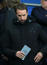 England manager Gareth Southgate during the Premier League match at Goodison Park, Liverpool.