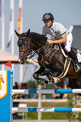 Greve Willem, NED, Faro<br /> Nederlands Kampioenschap Springen<br /> De Peelbergen - Kronenberg 2020<br /> © Hippo Foto - Dirk Caremans<br />  06/08/2020