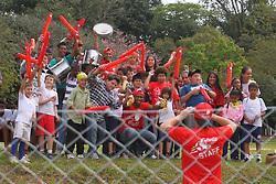 Lance da partida entre as equipes do Juventus e Santo Afonso, válida pela Copa Coca-Cola, no campo do Parque Floresta Imperial, em Novo Hamburgo. FOTO: Lucas Uebel/Preview.com