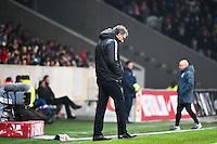 Deception Laurent BLANC - 03.12.2014 - Lille / Paris Saint Germain - 16eme journee de Ligue 1 -<br />Photo : Fred Porcu / Icon Sport