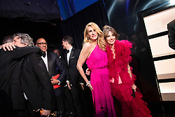 Julia Roberts and Linda Cardellini backstage during the live ABC Telecast of The 91st Oscars® at the Dolby® Theatre in Hollywood, CA on Sunday, February 24, 2019.