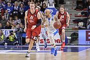 DESCRIZIONE : Eurocup 2015-2016 Last 32 Group N Dinamo Banco di Sardegna Sassari - Cai Zaragoza<br /> GIOCATORE : David Logan<br /> CATEGORIA : Palleggio Contropiede<br /> SQUADRA : Dinamo Banco di Sardegna Sassari<br /> EVENTO : Eurocup 2015-2016<br /> GARA : Dinamo Banco di Sardegna Sassari - Cai Zaragoza<br /> DATA : 27/01/2016<br /> SPORT : Pallacanestro <br /> AUTORE : Agenzia Ciamillo-Castoria/L.Canu