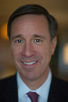 NEW YORK, NY – NOVEMBER 8, 2013:  CEO of Marriott Hotels, Arne Sorenson photographed at the Ritz Carlton at Central Park. A new brand of Marriott Hotels, Edition Hotel New York, is being installed at Madison Square Park and set to open in 2015. <br /> <br /> Photo © Robert Caplin