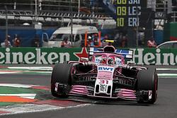 October 27, 2018 - Mexico-City, Mexico - Motorsports: FIA Formula One World Championship 2018, Grand Prix of Mexico, .#31 Esteban Ocon (FRA, Racing Point Force India F1 Team) (Credit Image: © Hoch Zwei via ZUMA Wire)