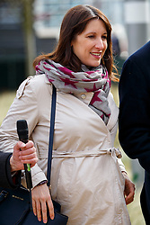 © Licensed to London News Pictures. 27/03/2015. LONDON, UK. Labour MP Rachel Reeves attending to the launch of Labour's 2015 General Election campaign at Orbit, Queen Elizabeth Olympic Park in London on Friday, 27 March 2015. Photo credit : Tolga Akmen/LNP