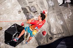 GINES LOPEZ Alberto of Spain during Finals IFSC World Cup Competition in sport climbing Kranj 2019, on September 29, 2019 in Arena Zlato polje, Kranj, Slovenia. Photo by Peter Podobnik / Sportida