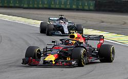 November 11, 2018 - Sao Paulo, Brazil - Motorsports: FIA Formula One World Championship 2018, Grand Prix of Brazil World Championship;2018;Grand Prix;Brazil ,  #33 Max Verstappen (NDL, Red Bull Racing) (Credit Image: © Hoch Zwei via ZUMA Wire)