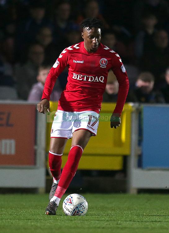 Charlton Athletic's Joe Aribo in action