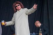 Madness play the Pyramid Stage - The 2016 Glastonbury Festival, Worthy Farm, Glastonbury.