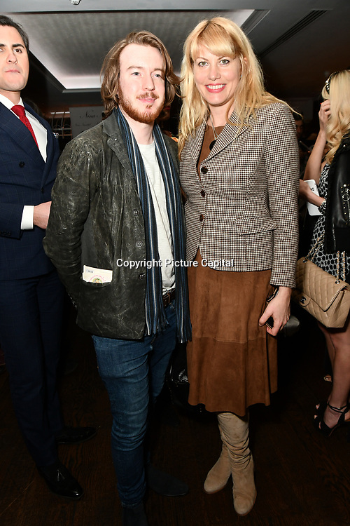 Meredith Ostrom  attend Nina Naustdal catwalk show SS19/20 collection by The London School of Beauty & Make-up at Bagatelle on 26 Feb 2019, London, UK.