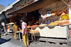 May 29, 2017 - Pakistan - QUETTA. PAKISTAN, MAY 29: Shopkeeper sells Iftari items at a shop during the Holy month .of Ramadan-ul-Mubarak in Quetta on Monday, May 29, 2017. (Credit Image: © PPI via ZUMA Wire)