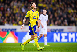 November 20, 2018 - Stockholm, Sweden - 181120 Kristoffer Olsson of Sweden looks dejected during the Nations League football match between Sweden and Russia on November 20, 2018 in Stockholm..Photo: Petter Arvidson / BILDBYRN / kod PA / 87811 (Credit Image: © Petter Arvidson/Bildbyran via ZUMA Press)