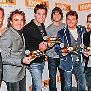 NLD/Hilversum/20110111 - Uitreiking 100% NL awards 2010, Albert Verlinde, Marco Borsato, Nick & Simon, Rene Froger en Wesley Klein