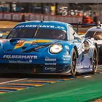 #78, Porsche 911 RSR, Proton Competition, drivers: Michele Beretta, Horst Felbermayr Jr., Max van Splunteren, LM GTE Am, at the Le Mans 24H, 2020