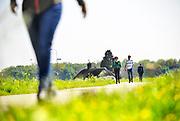 Nederland, Wamel, 30-4-2017Deelnemers aan de Leeuwenmars.de Gelderlander DGFoto 173055editie NijmegenFoto: Flip Franssen