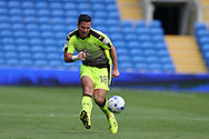 Yann Kermorgant of Reading in action.EFL Skybet championship match, Cardiff city v Reading at the Cardiff city stadium in Cardiff, South Wales on Saturday 27th August 2016.<br /> pic by Andrew Orchard, Andrew Orchard sports photography.