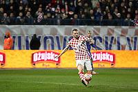 Osijek,23.03.2015. The stadium Municipal Garden played a friendly football match, Croatia - Israel. On picture Marcelo Brozovic<br /> Foto Mario CUZIC/Zagreb news agency
