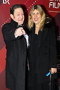 Jürgen Tonkel mit Ehefrau Eva auf dem Roten Teppich anlässlich der Verleihung des 41. Bayerischen Filmpreises 2019 am 17.01.2020 im Prinzregententheater München.