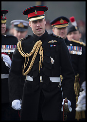 December 14, 2018 - Sandhurst, United Kingdom - Image licensed to i-Images Picture Agency. 14/12/2018. Sandhurst , United Kingdom. The Duke of Cambridge at the Sovereign's Parade at the Royal Military Academy Sandhurst, United Kingdom. (Credit Image: © i-Images via ZUMA Press)