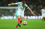 Jordan Henderson, the England captain in action. England v Spain, Football international friendly at Wembley Stadium in London on Tuesday 15th November 2016.<br /> pic by John Patrick Fletcher, Andrew Orchard sports photography.