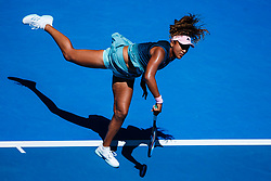 January 20, 2019 - Melbourne, VIC, U.S. - MELBOURNE, VIC - JANUARY 19: NAOMI OSAKA (JPN) during day six match of the 2019 Australian Open on January 19, 2019 at Melbourne Park Tennis Centre Melbourne, Australia (Photo by Chaz Niell/Icon Sportswire) (Credit Image: © Chaz Niell/Icon SMI via ZUMA Press)