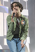 WASHINGTON, DC - May 21st, 2019 - Matt Healy of The 1975 performs at The Anthem in Washington, D.C. The band's third studio album, A Brief Inquiry into Online Relationships, was released late last year and  reached number one in the UK and number four in the US.  (Photo by Kyle Gustafson / For The Washington Post)