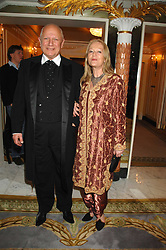 Actor STEVEN BERKOFF and CLARA FISCHER at the Chain of Hope Ball held at The Dorchester, Park Lane, London on 4th February 2008.<br /><br />NON EXCLUSIVE - WORLD RIGHTS
