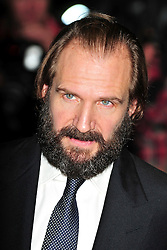 """© Licensed to London News Pictures. 16/10/2011. London,England. Ralph Fiennes attends the  Premiere of """"Coriolanus"""" at the 55th British Film Festival in London  Photo credit : ALAN ROXBOROUGH/LNP"""