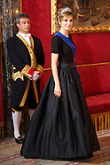 030711 spanish royals gala dinner chiliean president