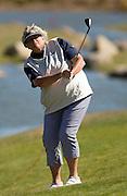 Laura Davies from Srixon. Round 1, Pegasus NZ Women's Open. Pegasus Golf Club, Christchurch, New Zealand. Thursday, 17 February 2011. Joseph Johnson / PHOTOSPORT.. Round 1, Pegasus NZ Women's Open. Pegasus Golf Club, Christchurch, New Zealand. Thursday, 17 February 2011. Joseph Johnson / PHOTOSPORT.