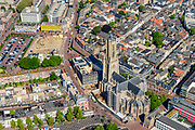 Nederland, Gelderland, Arnhem, 29-05-2019; zicht op de binnenstad,met Eusebiuskerk.<br /> View of the city center and Eusebius church and surroundings.<br /> <br /> luchtfoto (toeslag op standard tarieven);<br /> aerial photo (additional fee required);<br /> copyright foto/photo Siebe Swart