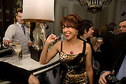 KATHY LETTE, Book party; Jessica Adams, Maggie Alderson, Imogen Edwards-Jones and Kathy Lette host the launch of 'In Bed With.' Artesian, The Langham, Portland Place. London. 11 February 2009 *** Local Caption *** -DO NOT ARCHIVE-© Copyright Photograph by Dafydd Jones. 248 Clapham Rd. London SW9 0PZ. Tel 0207 820 0771. www.dafjones.com.<br /> KATHY LETTE, Book party; Jessica Adams, Maggie Alderson, Imogen Edwards-Jones and Kathy Lette host the launch of 'In Bed With.' Artesian, The Langham, Portland Place. London. 11 February 2009