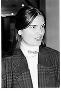 MISS EMMA KITCHENER, Paul O' Gorman foundation. Chelsea Hotel. London. 17 January 1989.<br /> <br /> SUPPLIED FOR ONE-TIME USE ONLY> DO NOT ARCHIVE. © Copyright Photograph by Dafydd Jones 248 Clapham Rd.  London SW90PZ Tel 020 7820 0771 www.dafjones.com