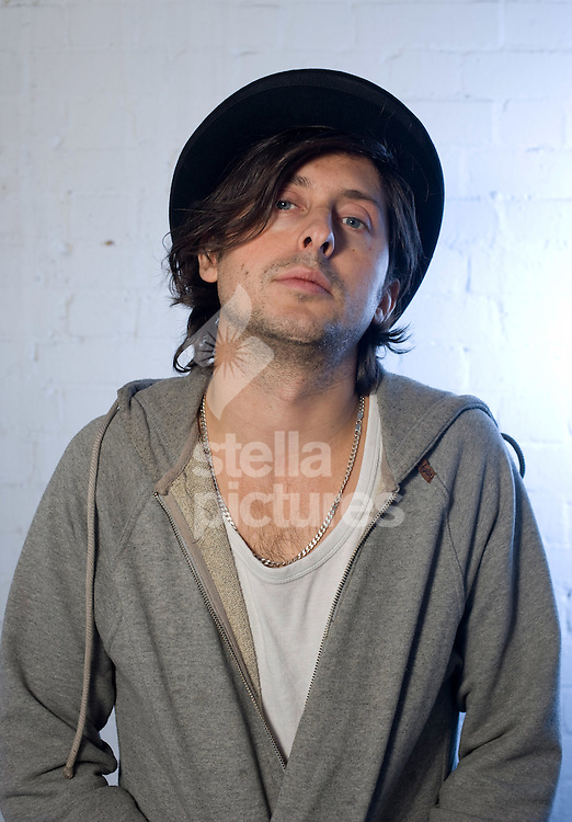 Picture by Daniel Hambury..6/1/10..Carl Barat, former frontman and lead guitarist of Dirty Pretty Things and co-frontman with Peter Doherty of the indie rock band The Libertines..Barat is now an actor and is due to star in a play called 'Love and Madness'.