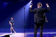 Premiere Holiday On Ice - Believe in de Jaarbeurs, Utrecht.<br /> <br /> Op de foto:  Rene Froger treede op tijdens de schaatsshow van zijn  Zoon Maxim Froger en Isabella Smit