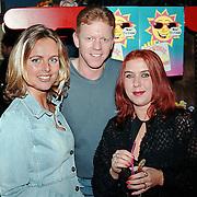 CD uitreiking Ruud Baja Beach Club, Sabine Wendel, Martin en Mona