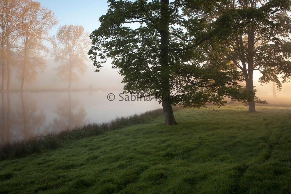 Fonthill Lake, Fonthill Estate, Wiltshire, UK