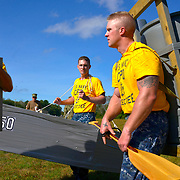 CHICOPEE, Mass -- SEPT 13, 2019 -- <br /> Across the U.S. Navy every year, Chief Petty Officers train 1st Class Petty Officers who have been selected for promotion in a summer-long training program. The Final Week, in the week leading up to the pinning ceremony in mid-September, is filled with important training events. <br /> This year, the Greater New England Chiefs Mess met for their first two days of Final Week training at USS Constitution, at Charlestown Navy Yard in Boston and then returned to their primary location at Westover Joint Reserve Base in Chicopee, Massachusetts. Greater New England Chiefs Mess is made up of Reserve Chiefs from seven Navy Reserve Operational Support Centers, all within four hours drive of Boston. <br /> U.S. Navy Photo by Chief Mass Communication Specialist Roger S. Duncan