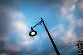 Street Lamp, Durham, New Hampshire, USA