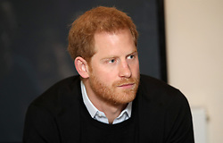 The Duke of Sussex during a visit to Streatham Youth and Community Trust's John Corfield Centre to see a 'Fit and Fed' February half-term holiday activity programme.