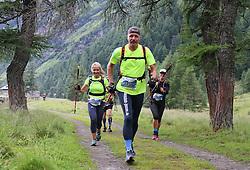 25.07.2015, Dorfertal, Kals, AUT, Grossglockner Ultra Trail, 50 km Berglauf, im Bild // during the Grossglockner Ultra Trail 50 km Trail Run from Kals arround the Grossglockner to Kaprun. Kals, Austria on 2015/07/25. EXPA Pictures © 2015, PhotoCredit: EXPA/ Stringer