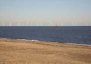 Scroby Sands offshore wind farm, Great Yarmouth, Norfolk, England
