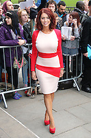 Amy Childs, The Television and Radio Industries Club (TRIC) Awards, Grosvenor House Hotel, London UK, 11 March 2014, Photo by Richard Goldschmidt