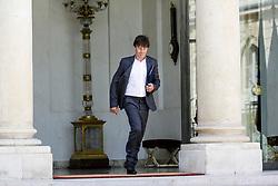 June 1, 2017 - Paris, France - CONSEIL DES MINISTRES AU PALAIS DE L'ELYSEE A PARIS, FRANCE, 31/05/2017..NICOLAS HULOT MINISTRE DE LA TRANSITION ÉCOLOGIQUE ET SOLIDAIRE # CONSEIL DES MINISTRES DU 31 MAI 2017 (Credit Image: © Visual via ZUMA Press)